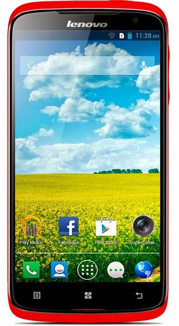 Harga dan Spesifikasi Lenovo S820, Android Quad Core Kamera 12