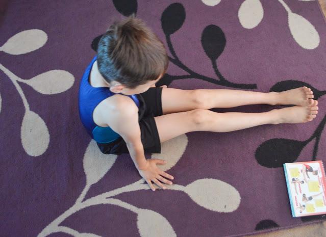 Head over heels gymnastics