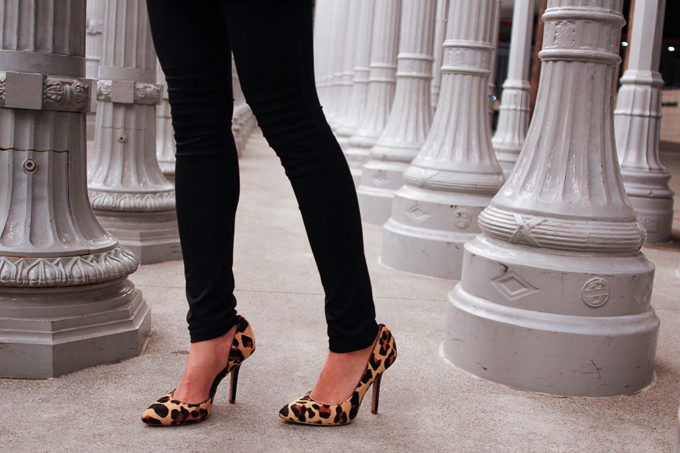 BCBG Paris Jaze Leopard Pump, Jerome Dreyfuss Twee, All Saints tank, beautybitten