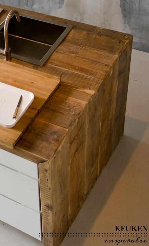 Keuken inspiratie  materialen mix  villa dEsta  interieur en wonen