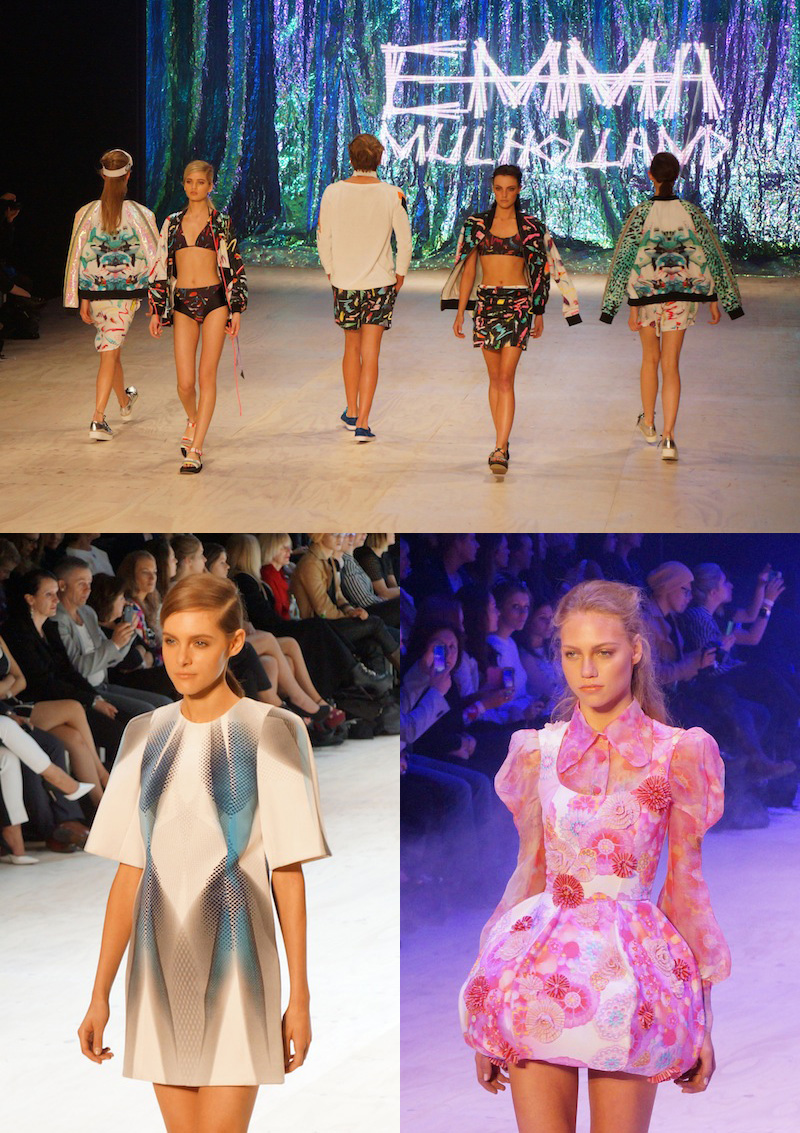 MBFFS 2013, trends, prints, floral, Emma Mulholland, Romance Was Born