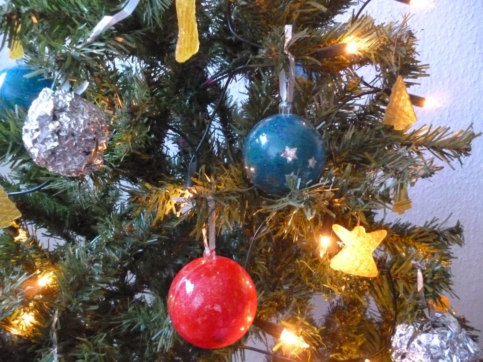 Weihnachtsbaumschmuck selbstgemacht - Christbaumschmuck selber machen ...