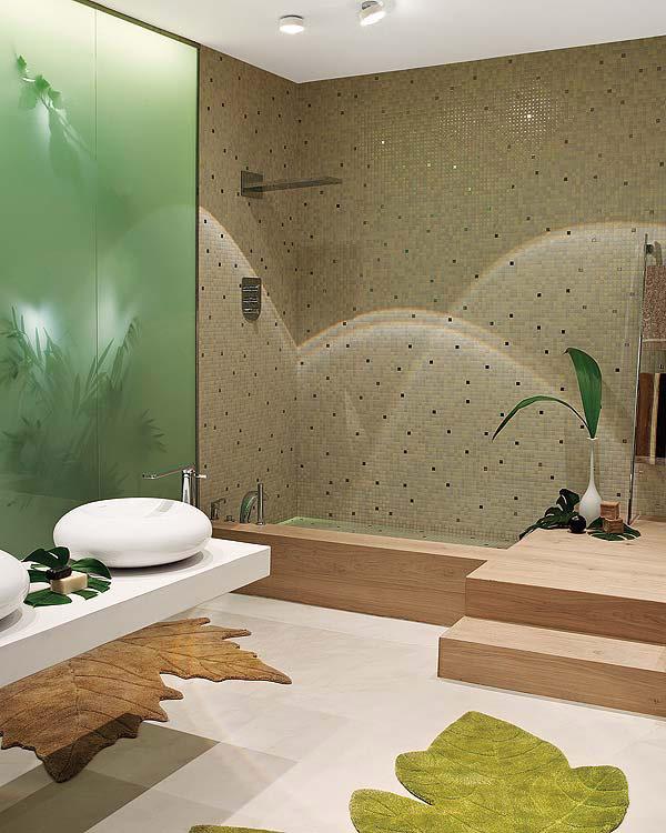 Decoracion De Baño Con Plantas:Nature Inspired Bathroom Design