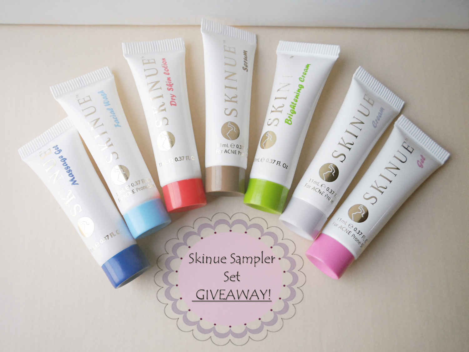 bblogger giveaway, acne prone skin products giveaway