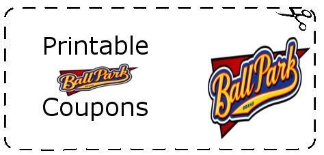 Ballpark Hot Dog Coupons