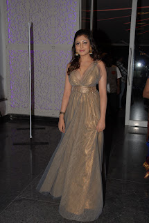 Madhu Shalini in a Spicy Evening Gown at South Fashion Awards