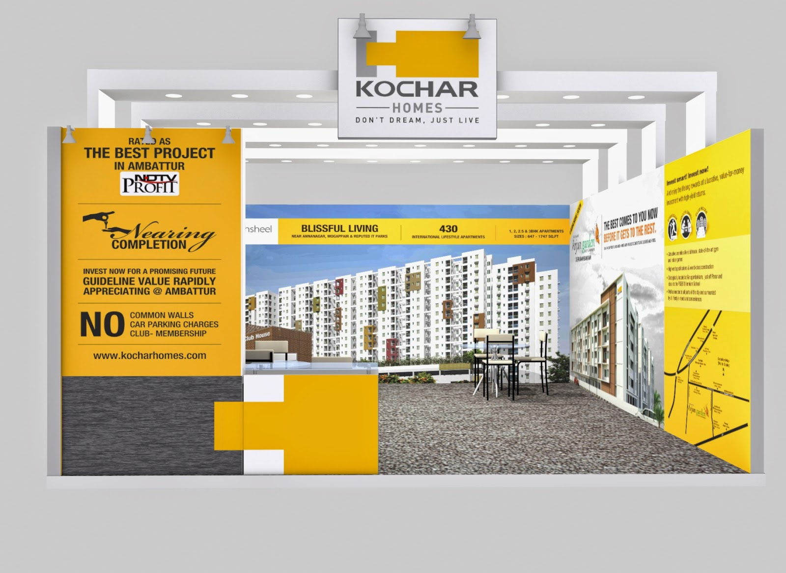Exhibition Stall Fabricators In Chennai : Exhibition stall designs
