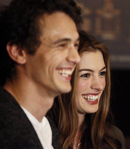 Anne Hathaway James Franco: Bairro Do Oriente: Os Oscares à Lupa