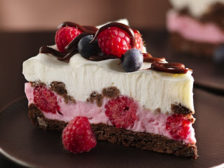 Kitchen Creations with a Mommy of 6: Chocolate and Berry dessert
