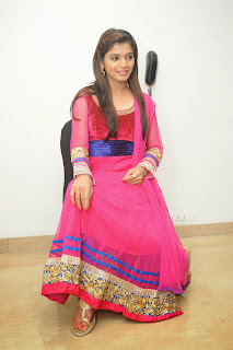 Actress Sanchita Shetty Pictures in Salwar Kameez at Pizza 2 Villa Telugu Movie Audio Release Function  0057