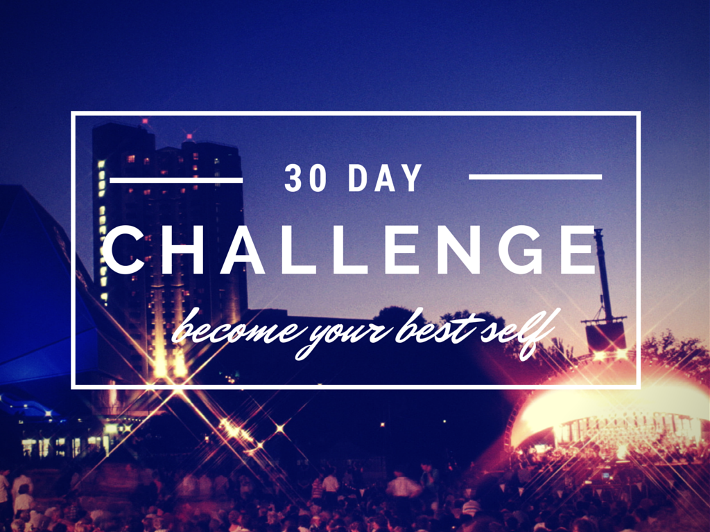 30 Day Challenge (made with Canva)