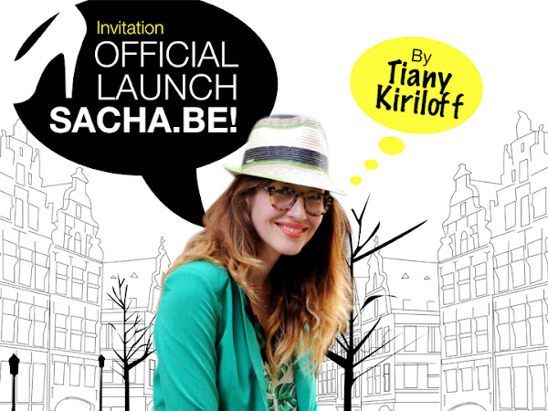Sacha.be Launch