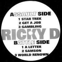 Ricky D (Slick Rick) – EP (1993, 128, VLS)