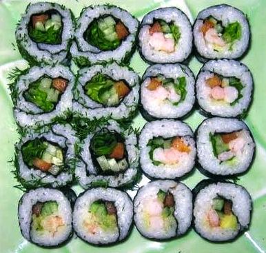 суши, мастер-класс, суши своими руками, как сделать суши, как приготовить суши, роллы, как сделать роллы, приготовить роллы, креветки, нори