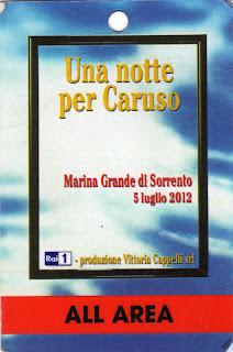 Pass Una notte per Caruso 2012