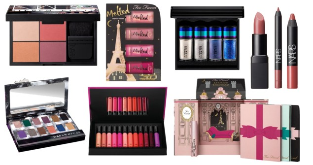 Christmas Beauty wishlist mac too faced urban decay nars steven klein lipstick eyeshadow melted lipstick make up for ever