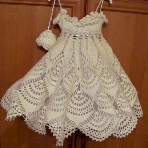 Snowflake Girl Dress