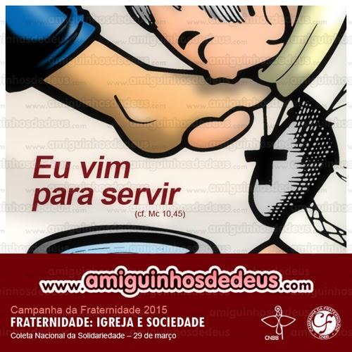 Cartaz da Campanha da Fraternidade 2015 desenho