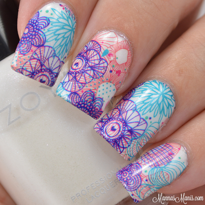 Mannas manis born pretty store fantastic flower nail art water wednesday october 7 2015 prinsesfo Gallery