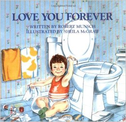 Robert Munsch, Love You Forever, Free Printable, http://bec4-beyondthepicketfence.blogspot.com/2016/01/love-you-forever-easy-valentine-decor.html
