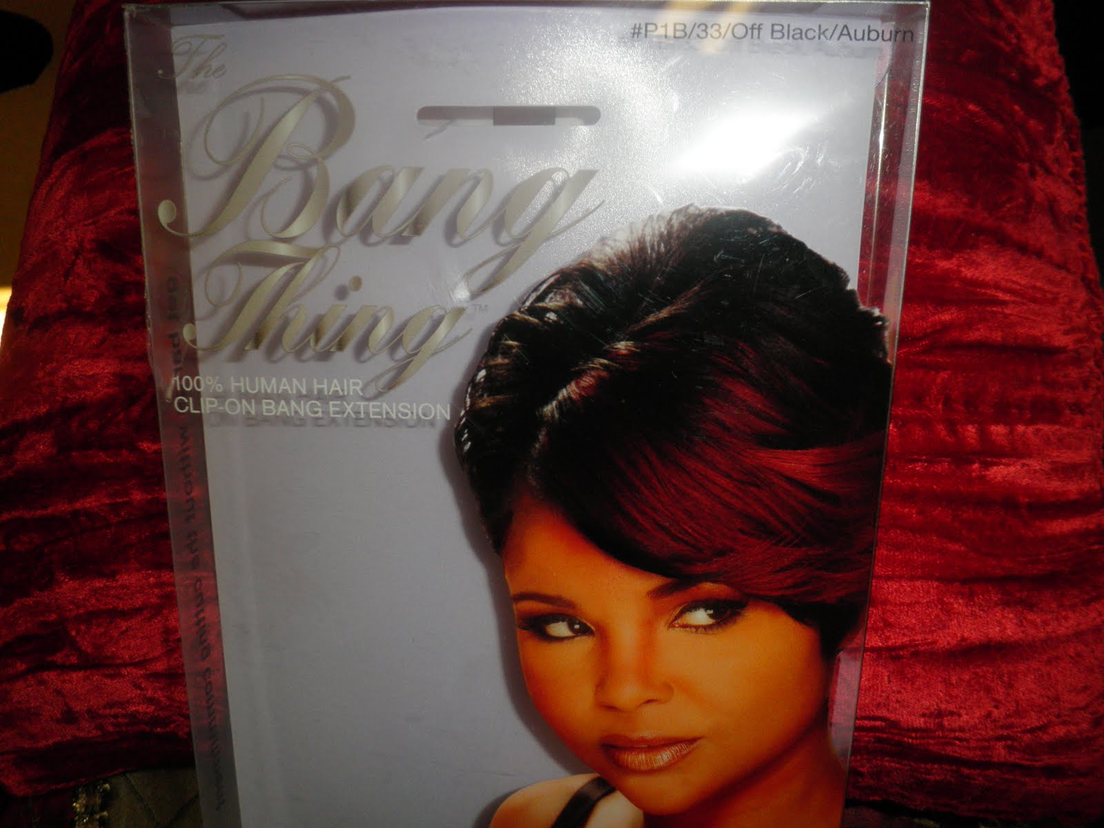 Phenomenalhaircare Clip In Bang Extension Unit