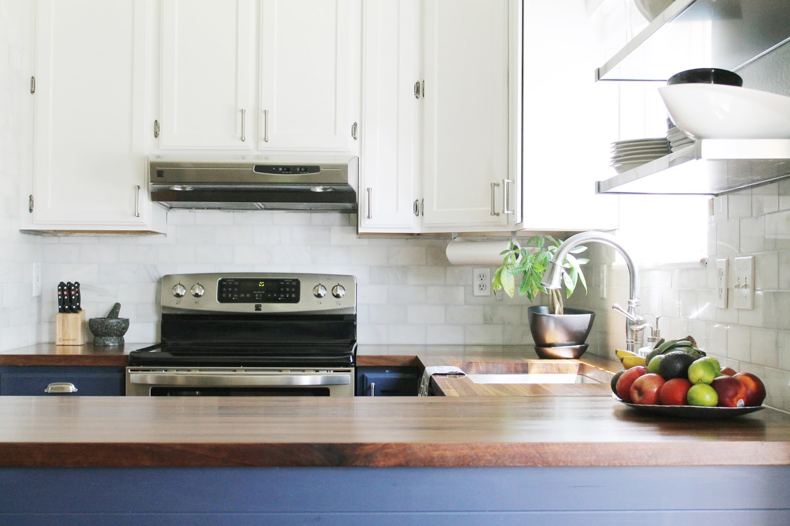 The Kitchen: Before and Afters! - Chris Loves Julia