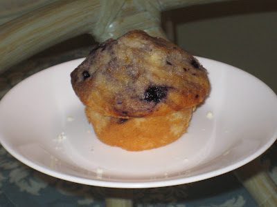 America's Test Kitchen Blueberry Muffins