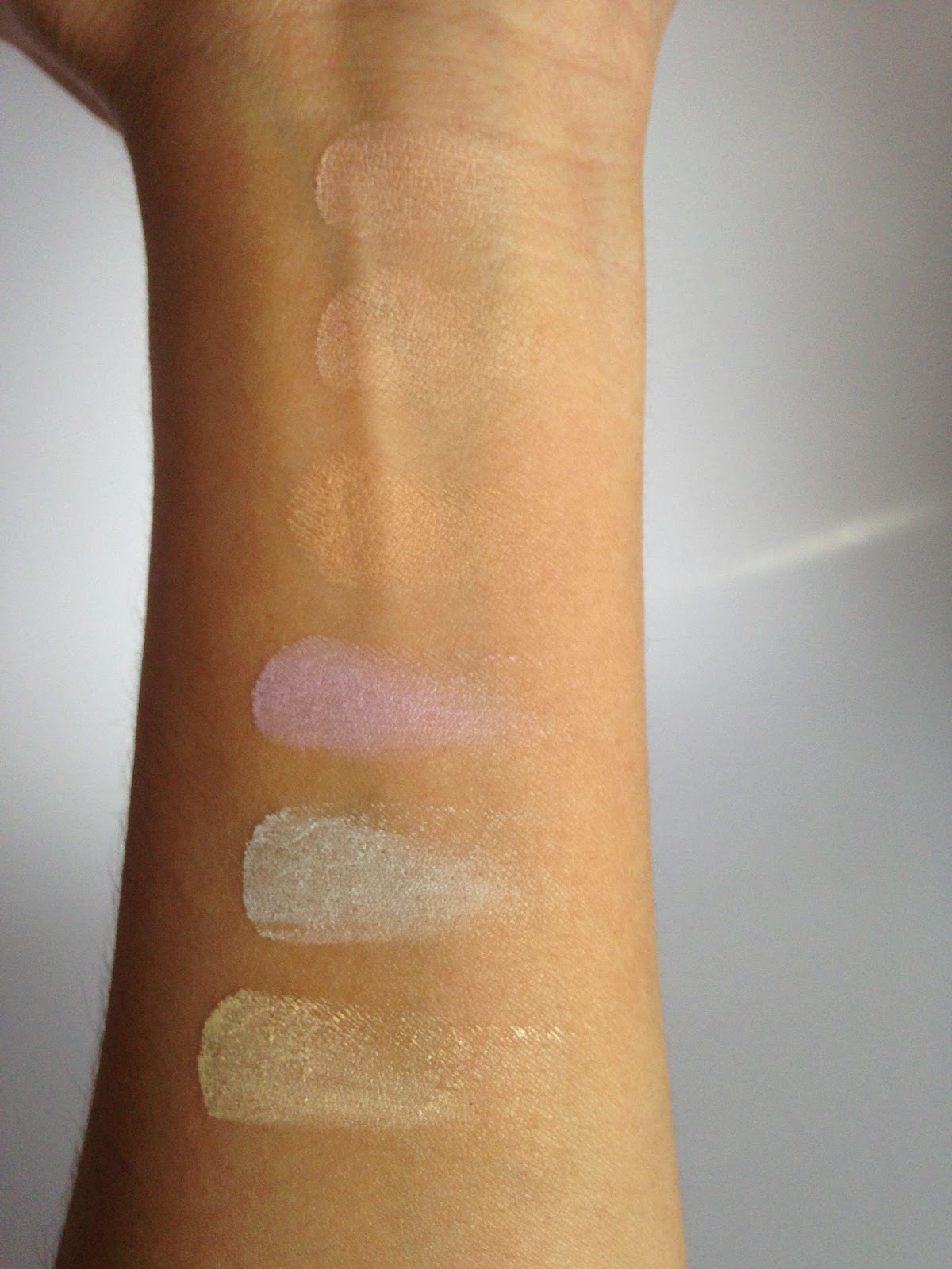Hard Candy Sheer Envy Concealer/Corrector Palette Swatches