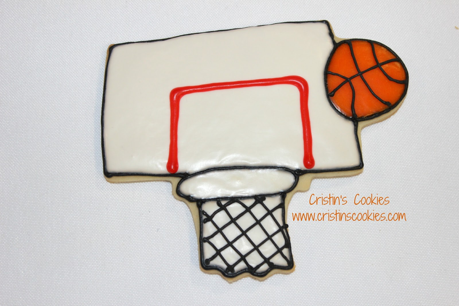 Cartoon Basketball Hoop Love this basketball hoop