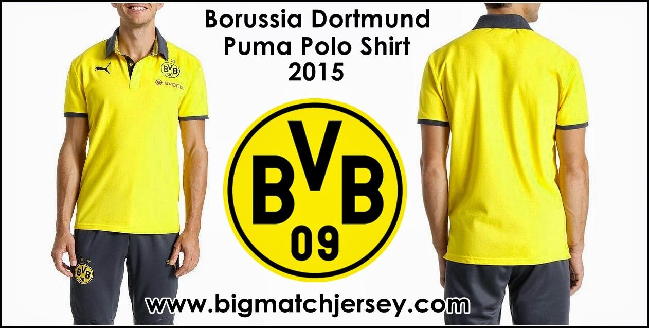 Polo BVB Dortmund Yellow 2015