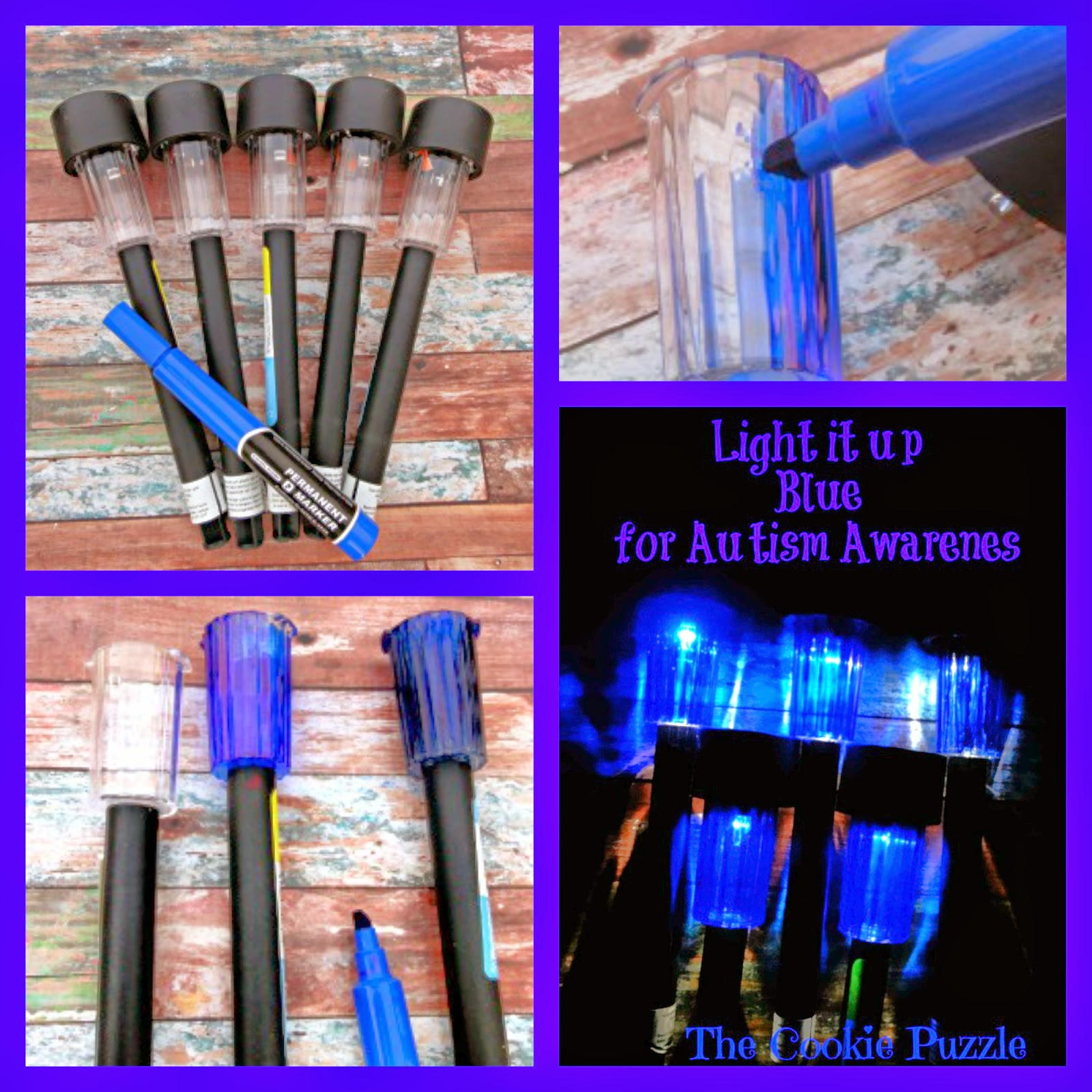 Autism Awareness Lights