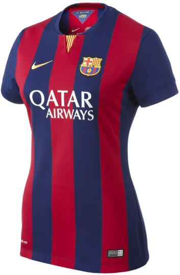 Barcelona 2014-2015 Nike Womens Home Football Shirt