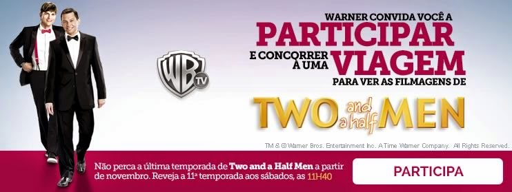 Promoção Two and a Half Men - Warner Bros