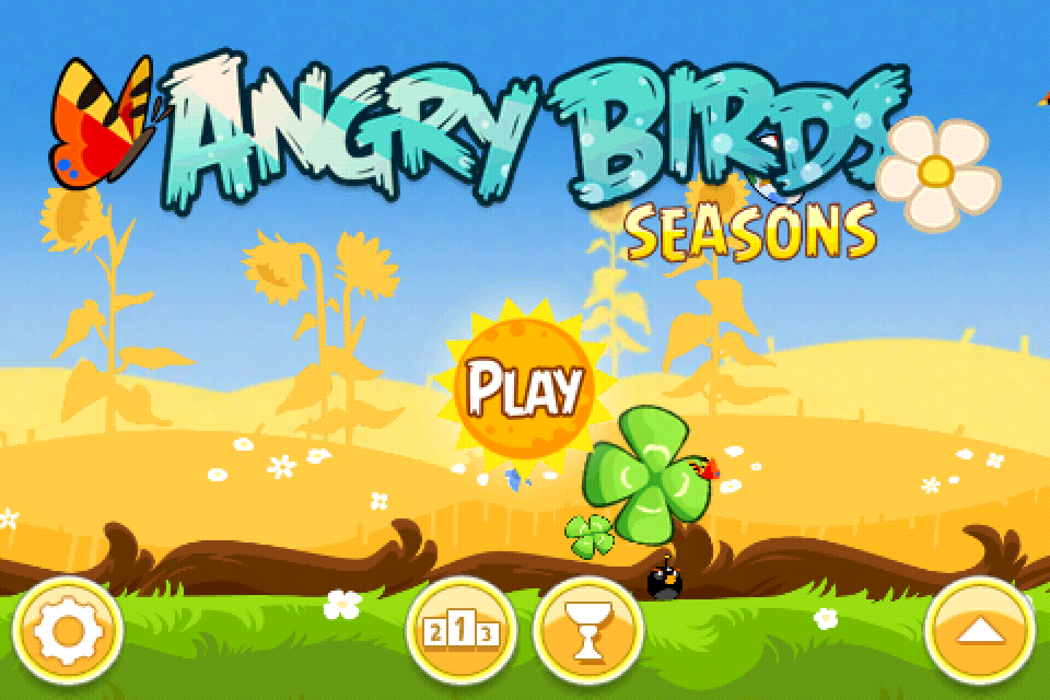 Fun iPod Apps: NEW Angry Birds Seasons Update!