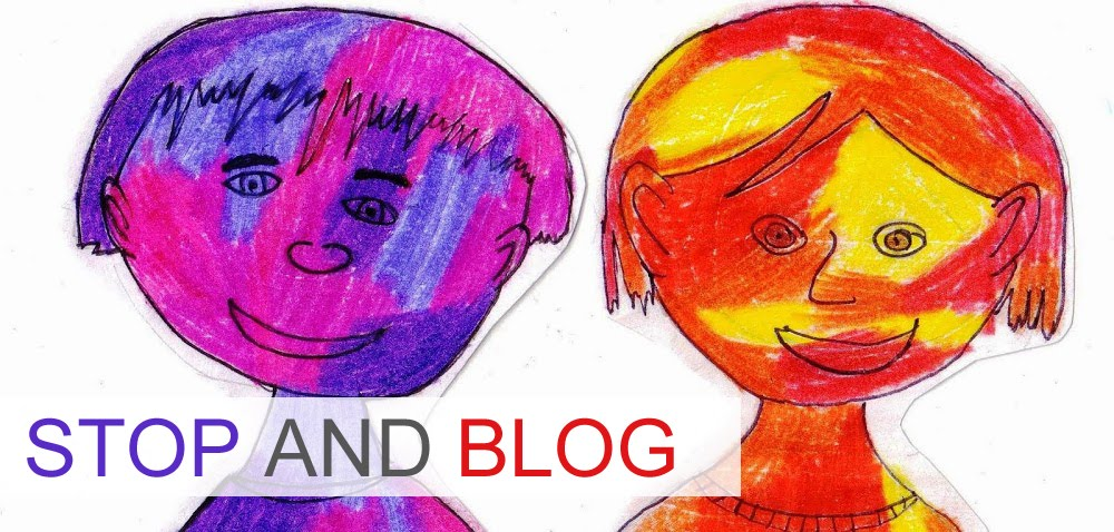 Stop and blog !