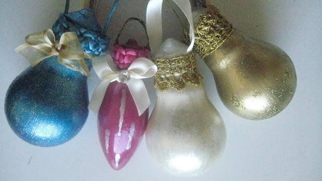 Lâmpadas incandescentes viram bolhas de Natal