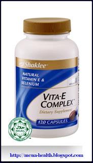 Vitamin E & Selenium - agen anti-oksida yang kuat dan boleh membantu melambatkan proses penuaan