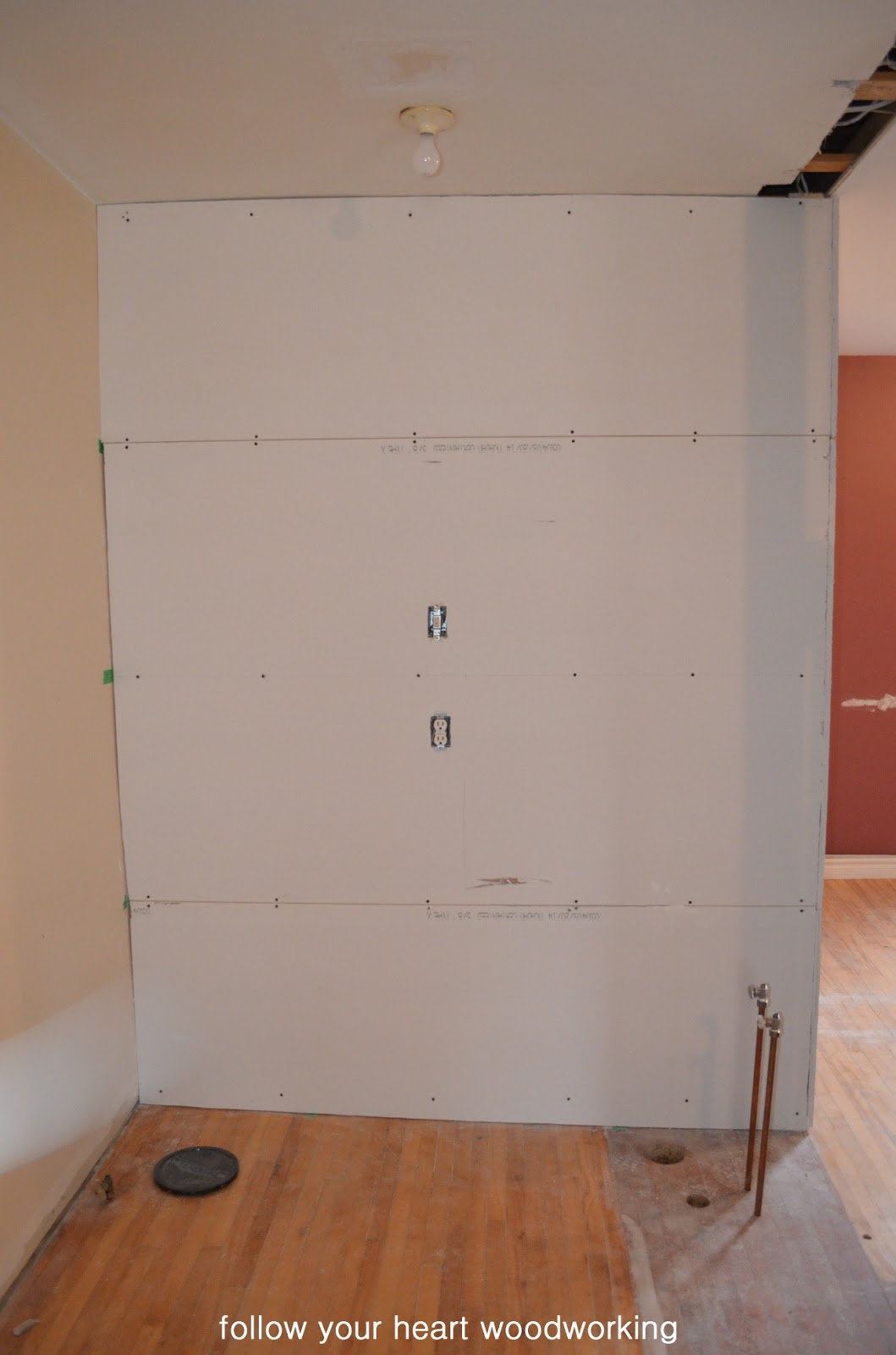 how to put up drywall