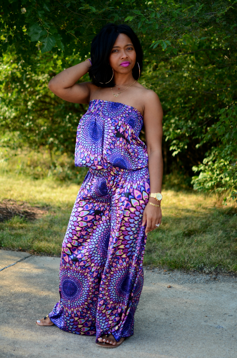 Colorful Jumpsuit