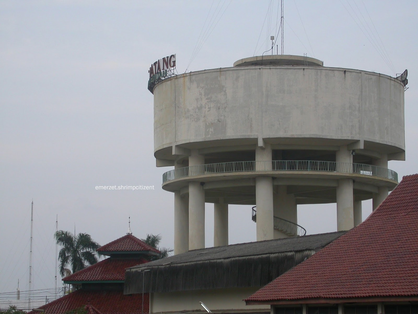 Kota Cirebon - Menara Air PDAM Kota Cirebon