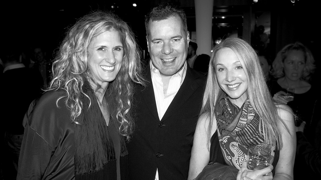 Shauna Levy, President of the Design Exchange with Teatro Verde's Shawn Gibson and Suzanne Dimma, Editor-in-chief of House and Home Magazine
