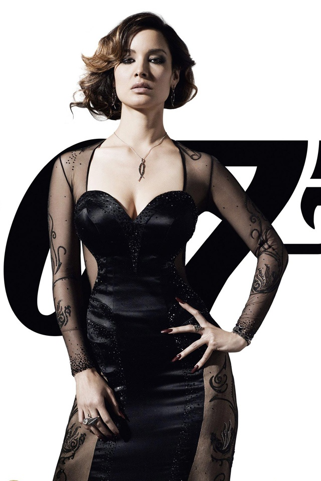 Bond Girl Skyfall brunettes Berenice Marlohe actress actress girl