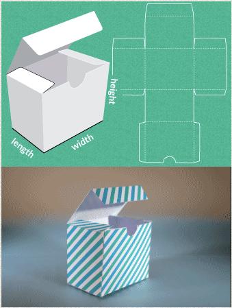 Sublimando ideias embalagens fa a a sua for Card box template generator