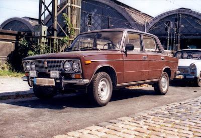 Car Lada russian