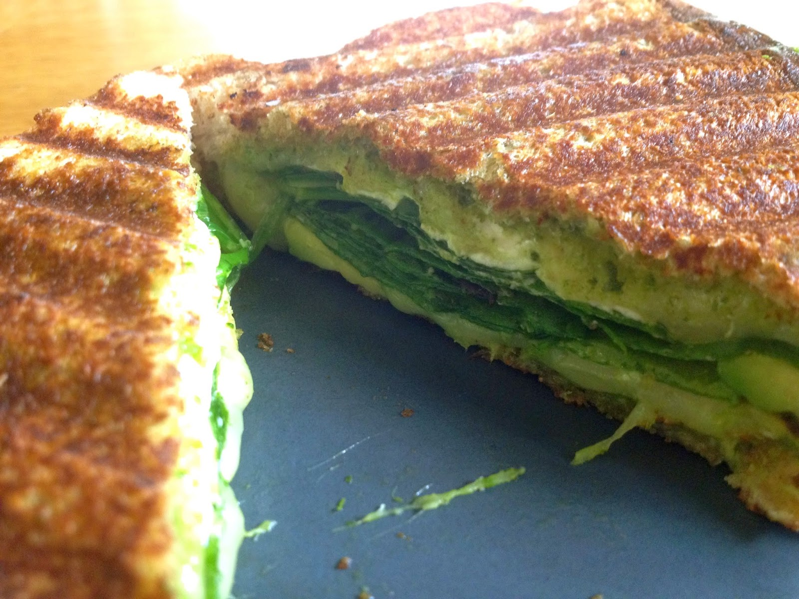 Green Goddess Grilled Cheese Sandwich!