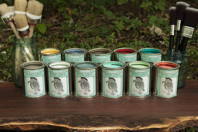 Wise Owl Chalk Synthesis Paint - I am grateful for series