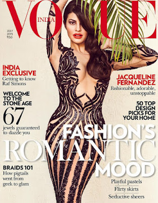 Jacqueline Fernandez Photoshoot for Vogue Magazine July 2015