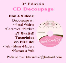 CD Para Aprender Decoupage, 4 Videos y de REGALO 4 Tutoriales