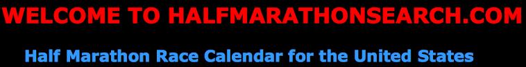 Half Marathons Calendar