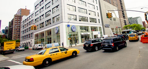 Manhattan Volkswagen Audi dealership